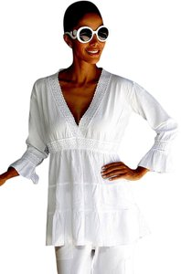 Lirome Embroidered Casual Summer Tunic