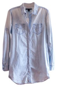 Banana Republic Button Down Shirt Chambray