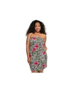Torrid short dress Tropical Wiggle Hourglass Date Night Pinup on Tradesy