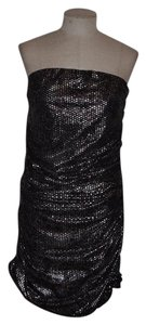 Express Metallic Bodycon Sequin Dress