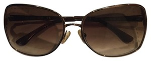 Authentic Kate spade gold sunglasses