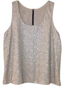 Vince Camuto Top Light Gray