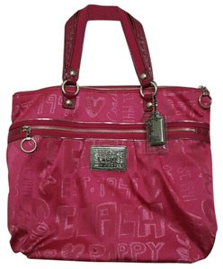 Coach Poppy Designer Sale Tote in Pink