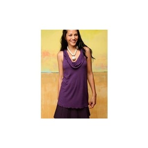 Free People short dress Purple Anthropologie Cowl Parisian on Tradesy