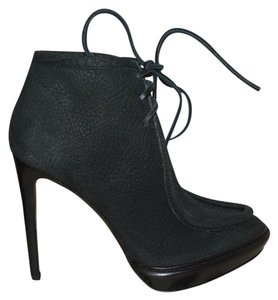 Burberry Prorsum Burberry Suede Ankle Black Boots