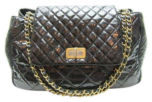 Chanel Patent Handbag Patent Shoulder Bag