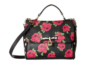 Betsey Johnson Front Flap Cross Body Bag