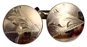 Titan Sterling Silver Titan Signed Heavy Cufflinks