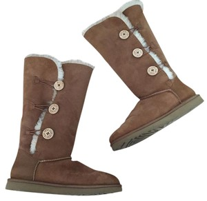 UGG Australia Size 11 Uggs Baily Button Ugg Brown Boots