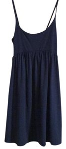 Lux short dress Blue on Tradesy