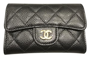 Chanel Auth Chanel card holder