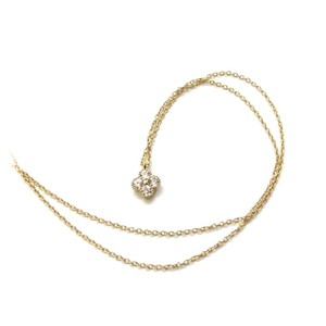 Elliot Francis New Cleef Clover Necklace