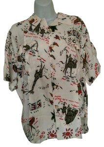 Ary Coopyer Kenya Vintage Women Vintage Shirt Vintage Button Down Shirt white