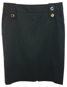 Gucci Black Pencil Skirt