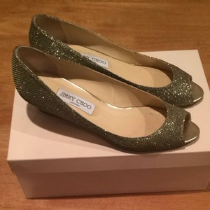 Jimmy Choo Bronze Size US 11 Regular (M, B)
