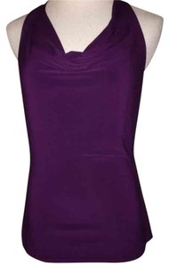 Tempted Plum Halter Top
