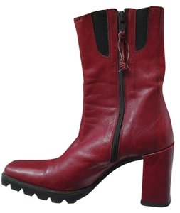 Donald J. Pliner BURNT RED Boots
