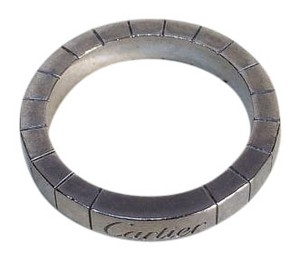 Cartier Cartier 18K White Gold 51# Lanieres Band Ring