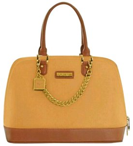 Joy & IMAN Tote in Orange and brown