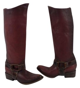 FreeBird Distressed By Steven Red rust Boots