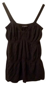 Sisley Knit Scrunched Ruffle Top
