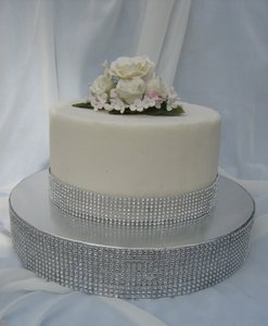 New Wedding Cake Stand Wedding Cake Base Cake Riser Diamond Mesh Cake Stand