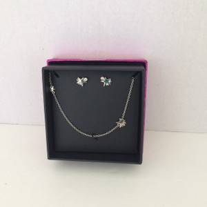 Coach COACH SHOOTING STAR NECKLACE AND EARRING SET