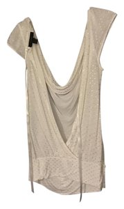 Express Top White and gold
