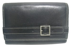 Pelle Studio Pelle Studio Black Leather Bifold Wallet & Coin Purse