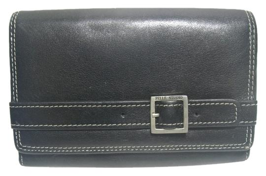 Preload https://item3.tradesy.com/images/pelle-studio-pelle-studio-black-leather-bifold-wallet-and-coin-purse-1977497-0-0.jpg?width=440&height=440