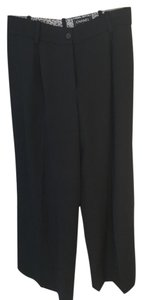 Chanel Wide Leg Dress Wide Leg Pants Black