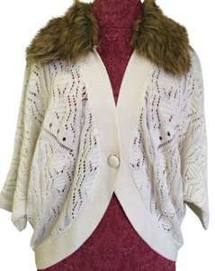 Bebe Faux Fur Cardigan