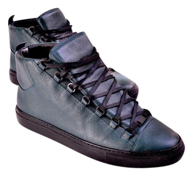 Item - Green Mens Stingray Hight Top Sneakers Size US 10 Wide (C, D)