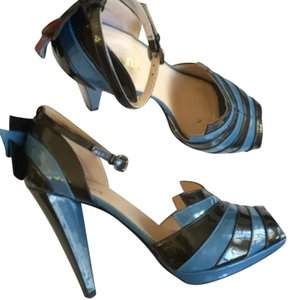 Prada Blue gray Pumps