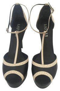 Lauren Ralph Lauren Black & White Sandals