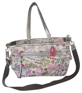 Coach Multicolored Diaper Bag