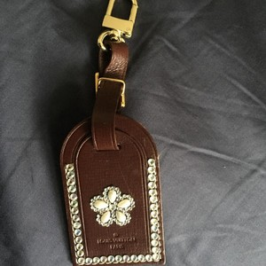 Louis Vuitton Custom Bling LV Luggage Tag
