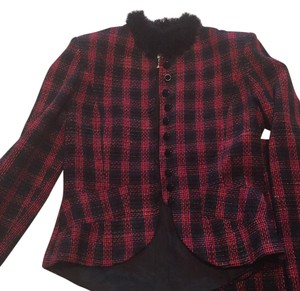 On by carla carini Red and black Jacket