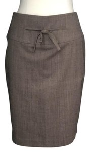 The Limited Limited Wool Wool Work Clothing Skirt Brown