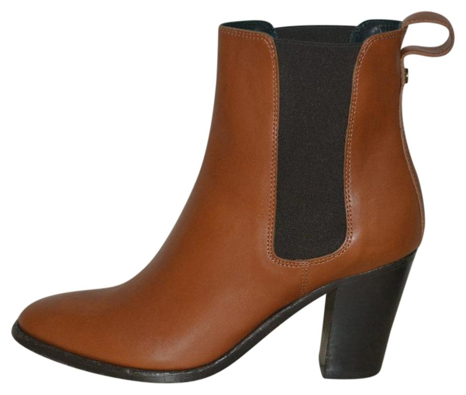 Burberry Chestnut Leather Ankle Equestrian Boots/Booties Eu 36 Boots/Booties Equestrian 8e89bf