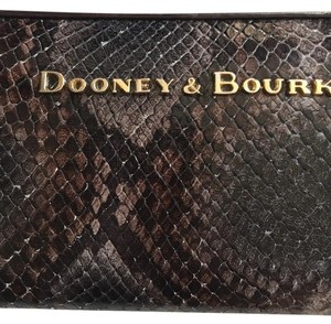 Dooney & Bourke Dooney & Bourke City Python Large Zip Wallet