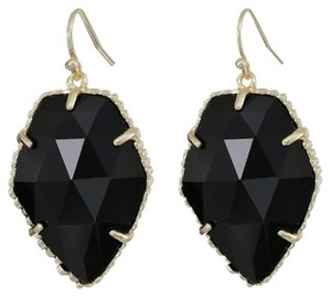 Kendra Scott NEW Corley Faceted Stone Drop Earrings