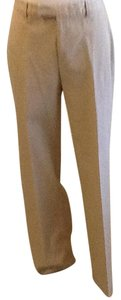 Banana Republic Stretch Made In 92% 8% Lycra Dry Clean Trouser Pants Khaki