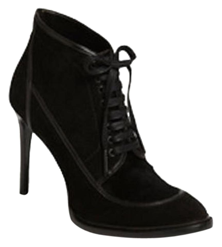 Burberry Ankle Black Heritage Panfield Suede Ankle Burberry Eu 39 Boots/Booties 27a6f5