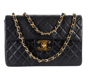 Chanel Vintage Maxi Single Flap Classic Shoulder Bag