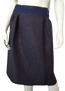 Simply Vera Vera Wang Brocade Skirt BLACK