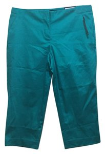 Worthington Skinny Pants Tropical green