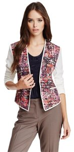 Elie Tahari FACETED FUCHSIA Jacket