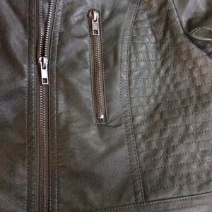 Harmony & Havoc Dark green Leather Jacket