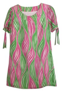 Lilly Pulitzer short dress Green, pink and white on Tradesy